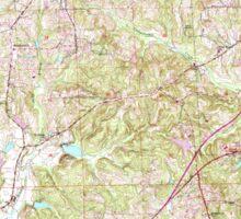 USGS TOPO Map Alabama AL Phenix City 304815 1955 24000 Sticker
