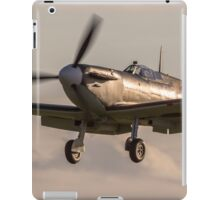 Sunset Spitfire landing iPad Case/Skin