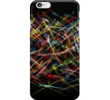 Particle war iPhone Case/Skin