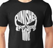 Punisher (White) Unisex T-Shirt
