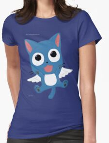 Cute happy Womens Fitted T-Shirt