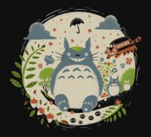 Magical Forest One Piece - Short Sleeve