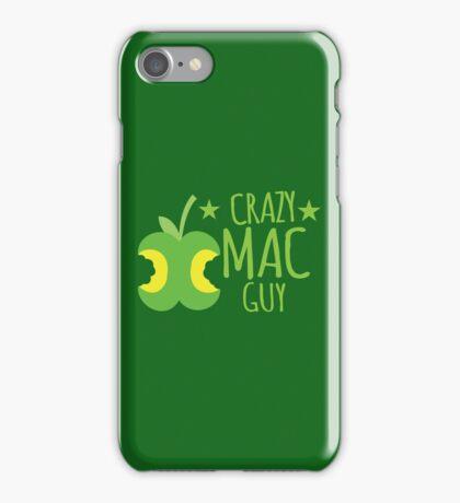 Crazy Mac guy iPhone Case/Skin