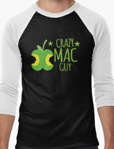 Crazy Mac guy Men's Baseball ¾ T-Shirt