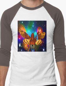 Star Moth Men's Baseball ¾ T-Shirt