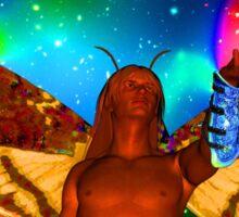 Star Moth Sticker
