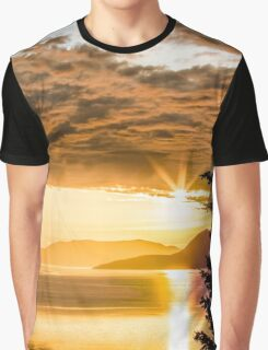 Chuckanut Sunset Graphic T-Shirt