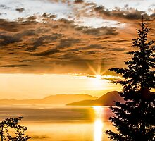 Chuckanut Sunset by Jim Stiles