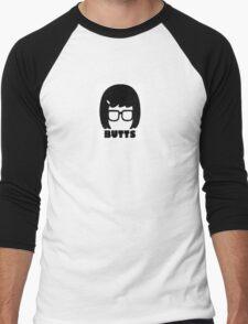 Tina Belcher BUTTS Men's Baseball ¾ T-Shirt