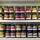 Large assortment of jam by Arie Koene