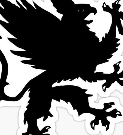 Heraldic griffin Sticker