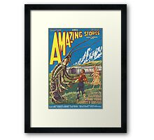 Amazing stories 2 Framed Print
