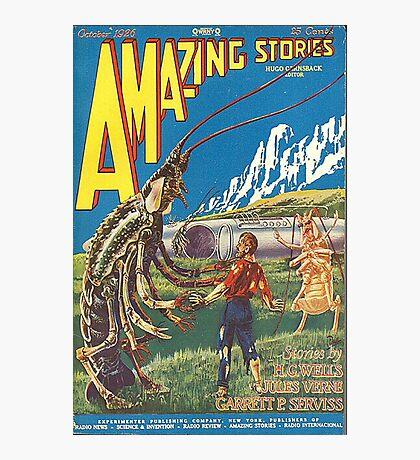 Amazing stories 2 Photographic Print