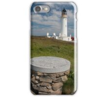 Mull of Galloway Lighthouse and Topograph Photograph Dumfries and Galloway iPhone Case/Skin