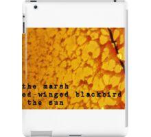 sunrise iPad Case/Skin