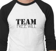 "Supernatural: ""Team Free Will"" Men's Baseball ¾ T-Shirt"