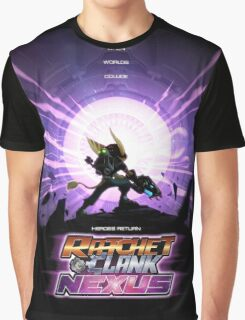 Ratchet And Clank Nexus Graphic T-Shirt