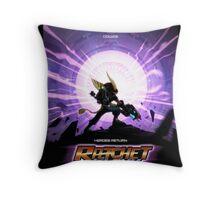 Ratchet And Clank Nexus Throw Pillow