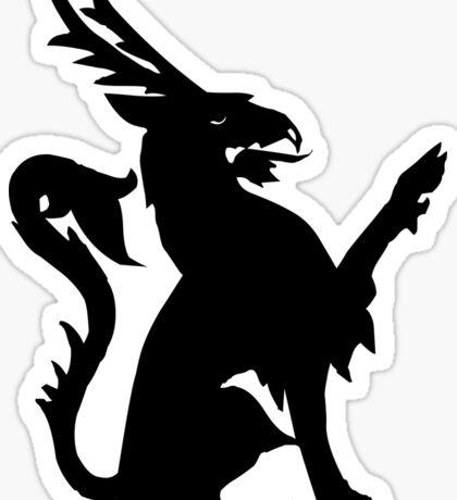 Heraldic creature Sticker