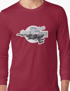 Cartoon Bomber Long Sleeve T-Shirt