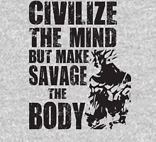 Make Savage The Body (Saiyan Ripped Back) Unisex T-Shirt