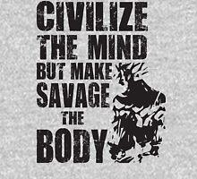 Make Savage The Body (Saiyan Ripped Back) Unisex T-Shirt