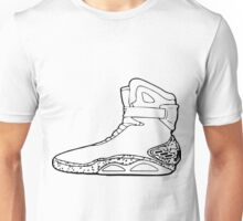 Back to the future shoe Unisex T-Shirt