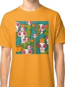 Skulls, Cacti and Atomic Coffee Classic T-Shirt