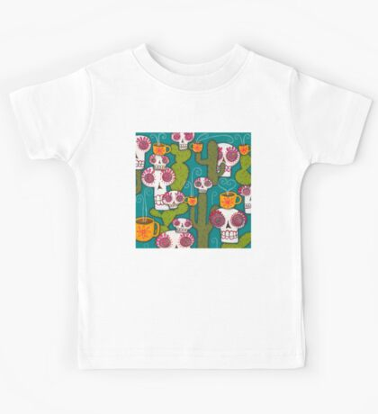 Skulls, Cacti and Atomic Coffee Kids Clothes