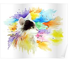 Cat 605 Poster