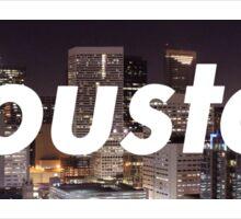 Houston Box Logo Sticker