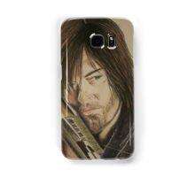 Daryl Dixon TWD in Derwent pencils Samsung Galaxy Case/Skin