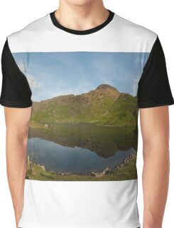 Easedale Tarn - Lake District Graphic T-Shirt