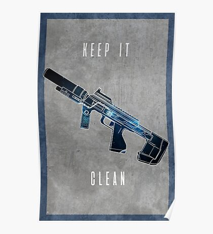 Keep it clean Poster