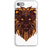 Lion-King-Illustrator iPhone Case/Skin
