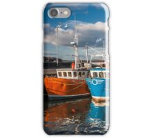 Stranraer Harbour and Fishing Boats Photograph Dumfries and Galloway iPhone Case/Skin