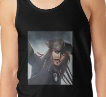 Captain Jack Sparrow - Johnny Depp Tank Top