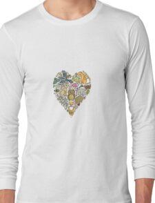 Love Nature Heart Long Sleeve T-Shirt