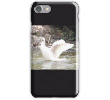 White Female Duck iPhone Case/Skin