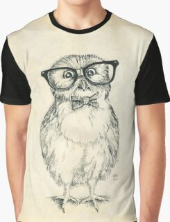 Nerdy Owlet Graphic T-Shirt