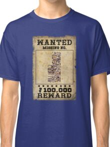 Missing no. Pokémon WANTED Classic T-Shirt
