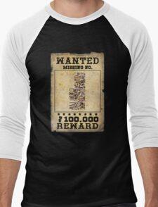 Missing no. Pokémon WANTED Men's Baseball ¾ T-Shirt