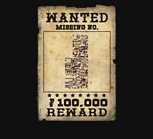 Missing no. Pokémon WANTED Unisex T-Shirt