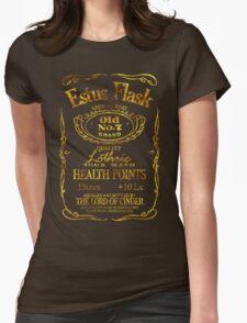 Estus Label - Golden Womens Fitted T-Shirt