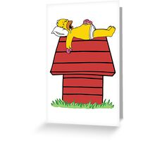 Good Grief Homer Greeting Card