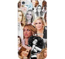 Kristin Wiig collage iPhone Case/Skin
