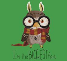 Small owlet - Biggest HP fan One Piece - Short Sleeve