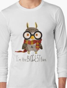 Small owlet - Biggest HP fan Long Sleeve T-Shirt