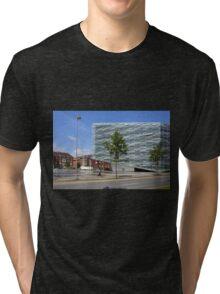 Commercial Architecture, Copenhagen, Denmark Tri-blend T-Shirt