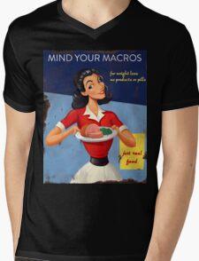 Vintage Mind Your Macros Advertisement T-Shirt
